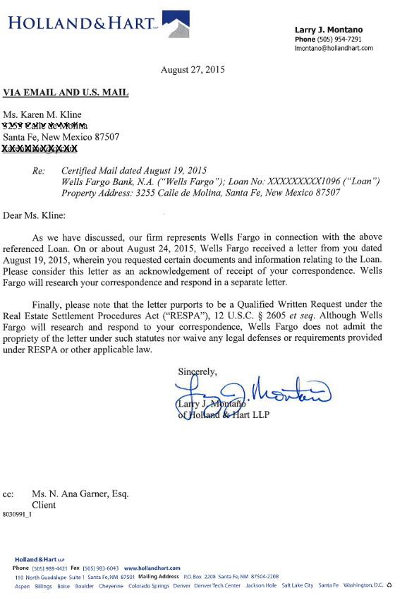 Wells Fargo - acknowledgment letter redacted 560