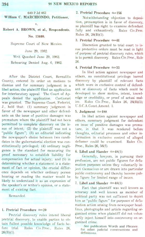 Case Law 1
