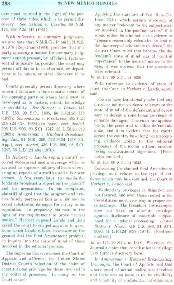 Case Law 398